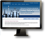Pickering Laboratories Testing Solutions Website